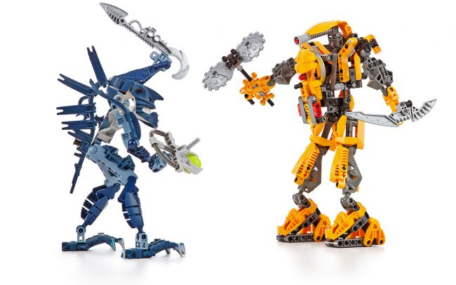 360 degré de 2 bionicles