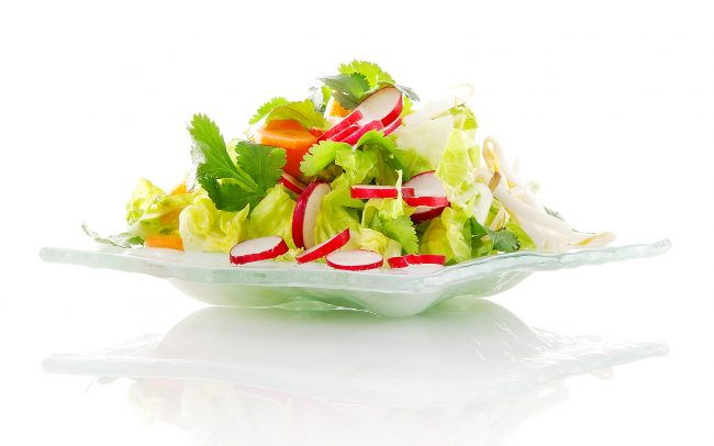 salade composée en 360